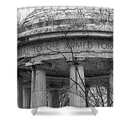 District Of Columbia World War I Memorial Shower Curtain