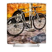 Ditchin' The Taxi To Ride Shower Curtain