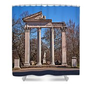Divae Faustinae Shower Curtain