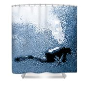Diver Down Shower Curtain