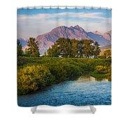 Divide Creek Morning Shower Curtain