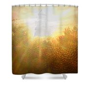 Divine Light Shower Curtain