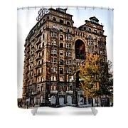 Divine Lorraine Hotel In Philadelphia Shower Curtain