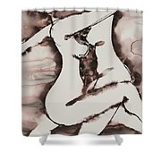Divine Love Series No. 1411 Shower Curtain