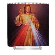 Divine Mercy Big File Shower Curtain