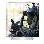 Divine Mother And Child Shower Curtain