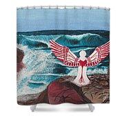 Divine Power Shower Curtain