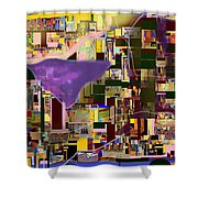 Divinely Blessed Marital Harmony 16aa Shower Curtain