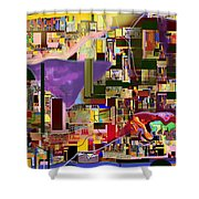 Divinely Blessed Marital Harmony 16c Shower Curtain