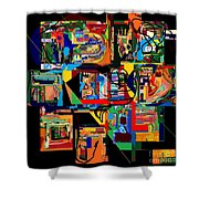 Divinely Blessed Marital Harmony 22 Shower Curtain