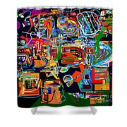 Divinely Blessed Marital Harmony 25 Shower Curtain