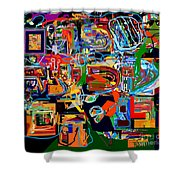 Divinely Blessed Marital Harmony 26 Shower Curtain