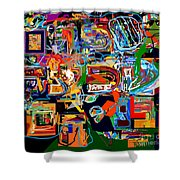 Divinely Blessed Marital Harmony 27 Shower Curtain