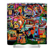 Divinely Blessed Marital Harmony 29 Shower Curtain