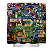 Divinely Blessed Marital Harmony 42 Shower Curtain