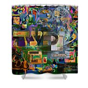 Divinely Blessed Marital Harmony 46 Shower Curtain