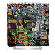 Divinely Blessed Marital Harmony 48 Shower Curtain