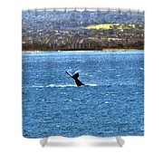 Diving II Shower Curtain