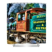 Dixiana Engine 3 Shower Curtain