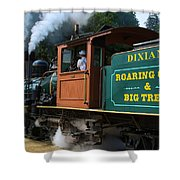 Dixiana Engine 4 Shower Curtain