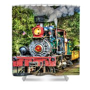 Dixiana Engine Shower Curtain