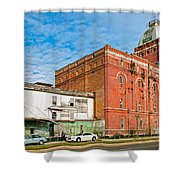 Dixie Beer Shower Curtain