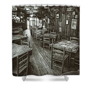 Dixie Chicken Interior Shower Curtain