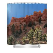 Dixie National Forest Utah Shower Curtain