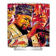 Dizzy Gillespie Shower Curtain