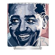 Dizzy Gillespie Portrait Shower Curtain
