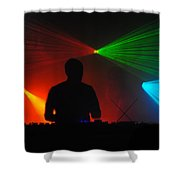 DJ Shower Curtain