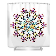 Dna 48 Shower Curtain