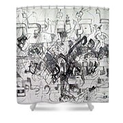 Do Not Labor In Vain And Do Not Listen To Worthless Matters 2 Shower Curtain