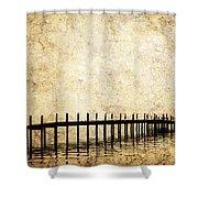 Dock 2 Shower Curtain