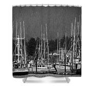 Docked Shower Curtain