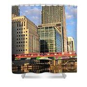 Docklands London Shower Curtain