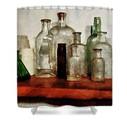 Doctor - Medicine Bottles Tall And Short Shower Curtain