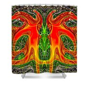 Doctor Octopus Shower Curtain