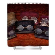 Doctor - Optometrist - Array Of Opticals Shower Curtain