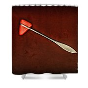 Doctor - Orthopedic Tool - Reflex Hammer Shower Curtain