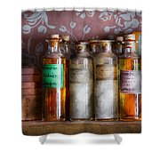 Doctor - Perfume - Soap And Cologne Shower Curtain