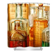 Doctor - Remedies For Hoarseness  Shower Curtain