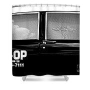 Doctor Taxi Shower Curtain