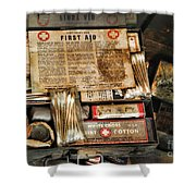 Doctor - The First Aid Kit Shower Curtain
