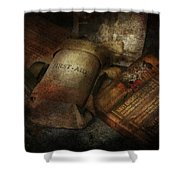 Doctor - Wwii Emergency Med Kit Shower Curtain