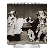 Doctors Office Shower Curtain by Aged Pixel
