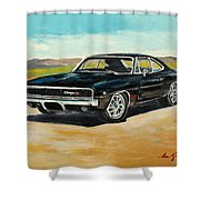Dodge Charger Rt 1970 Shower Curtain