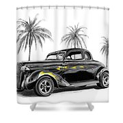Dodge Coupe Shower Curtain