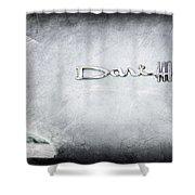 Dodge Dart 440 Emblem Shower Curtain