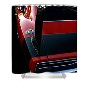 Dodge Daytona Fin Shower Curtain